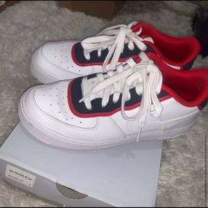 Air Force 1 '07 LV8 'Double Layer- Obsidian Red